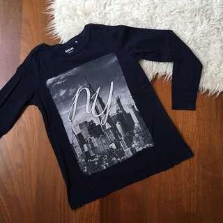 Long sleeve New York tee
