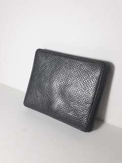 Repriced LOUIS VUITTON Porte Mannaie Coin Wallet (Taiga Leather)