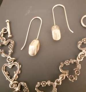 Vintage sterling silver jewelry 925