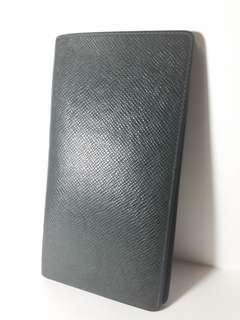 LOUIS VUITTON Epicea Long Wallet (Taiga Leather)