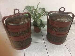 1950's Basket ( one pair )