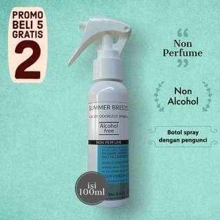 Body Odorizer Spray | Deodorant Spray SUMMER BREEZE isi 100ml