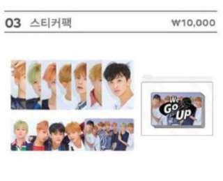 [preorder] nct dream we go up stickers