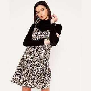Glassons leopard button up dress