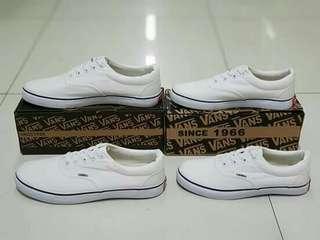 vans white and black 35-40