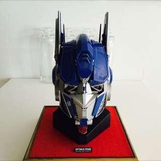 Authentic Optimus Prime Head Replica