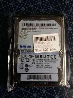 全新 SAMSUNG 160GB 5400 RPM 8M IDE Hard Disk 未開封