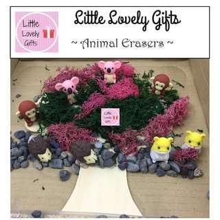 Animal Puzzle Erasers