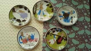 Peter Rabbit sauce plates