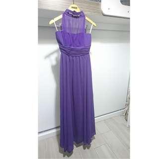 紫色姊妹裙