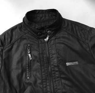 Jaket Kulit Leather Jacket Unbranded Mulus Murah