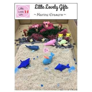 Marine Puzzle Erasers Good for Children's Day
