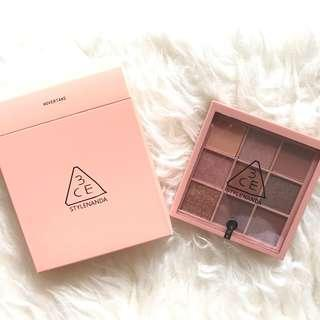 3CE mood recipe eyeshadow palette #overtake