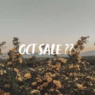 october sale ?? 🤷🏻♀️