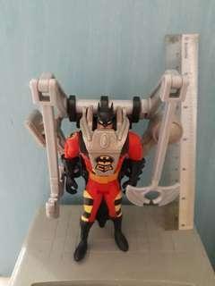The Adventures of Batman & Robin, Crime Squad edition: Disaster Control Batman action figure (Kenner, 1995)