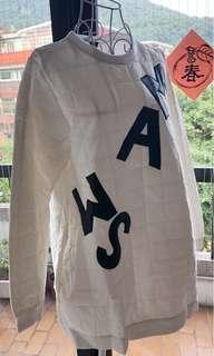 🚚 二手韓版白色長上衣