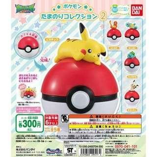 [PO] Gachapon - Pokemon Tamanori figure collection Vol.2