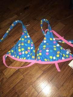 Bikini Top (polka dots)