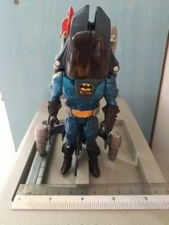 The Adventures of Batman & Robin, Crime Squad edition: Skycopter Batman action figure (Kenner, 1995)