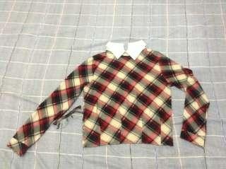 Korean Checkered longsleeve