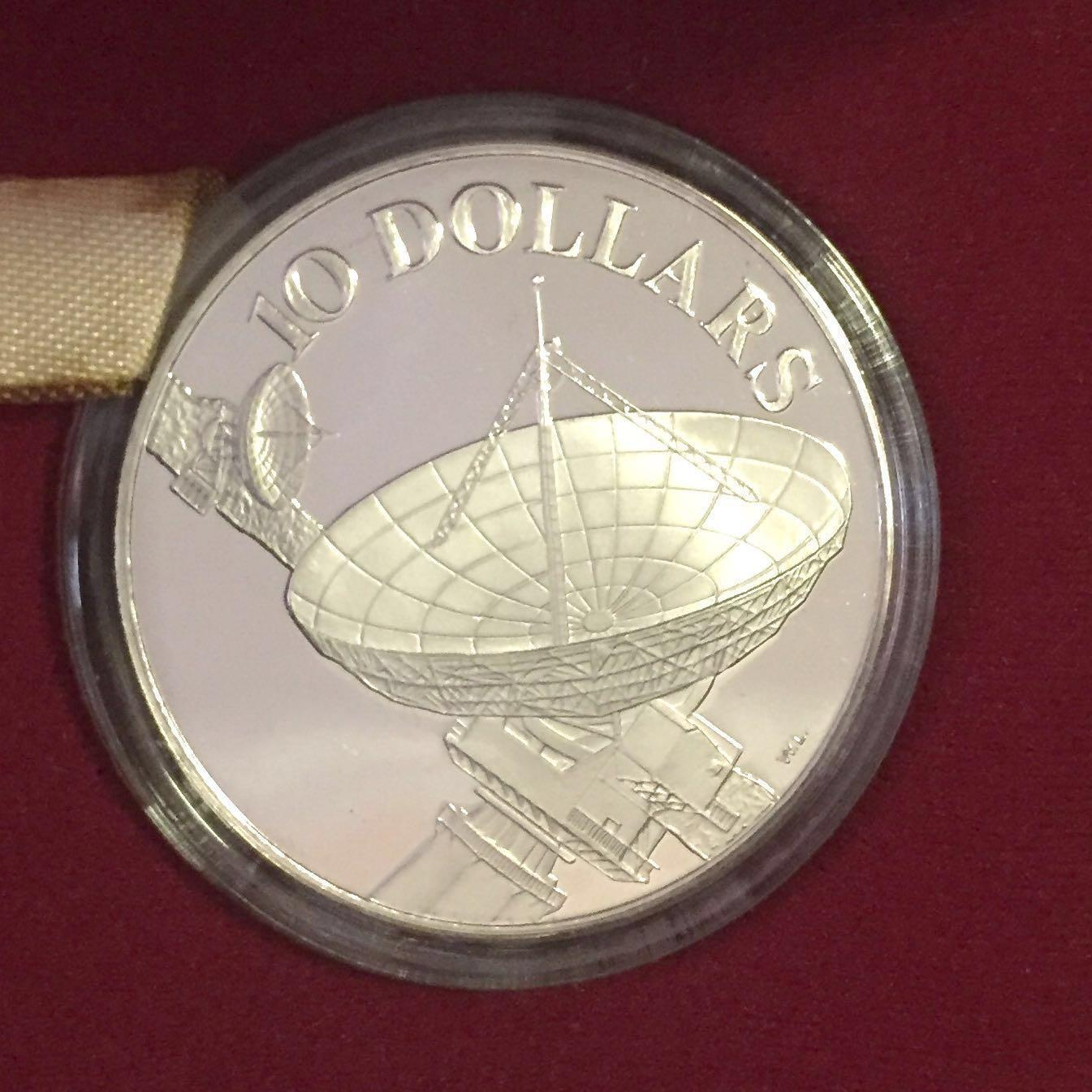 $10 Singapore proof coin 1980