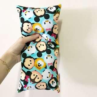 ⭐️Highly Recommended! Bean Sprout Husk Pillow / Beanie Pillow , Imported Fabric ( 100% Handmade 100% Jersey Cotton , Premium Quality!) 15 x 30 cm Tsum Tsum