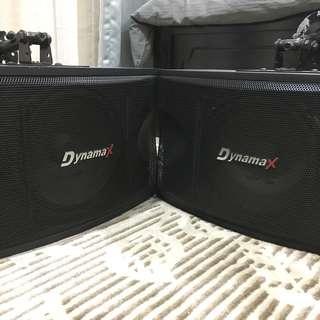 """Dynamax Karaoke Speaker 10"""" CS-450"""