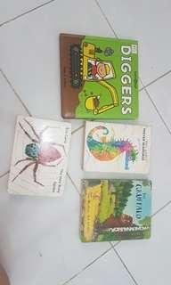Assorted hardcover picture books