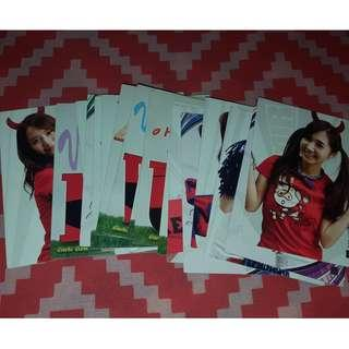 SNSD 2010 WORLD CUP STAR CARDS