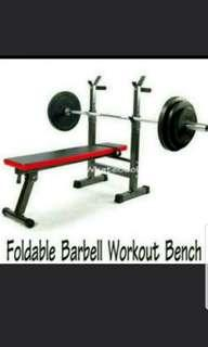 Sit Up Bench Foldable Barbell Workout Bench Free Delivery included