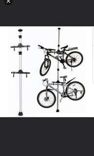 Dual Bicycle Space Saving Aluminium Ceiling Rack