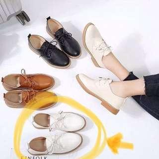 白色平底鞋 斯文鞋