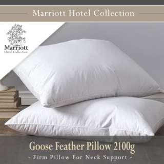 Marriott Hotel Collection Goose Feather Pillow 2100g