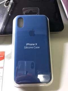 iPhone X Silicon Case (Blue Horizon)