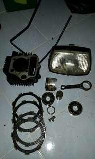 EX5 engine block and rod