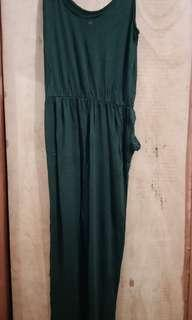 H&M Jumpsuit Green Army