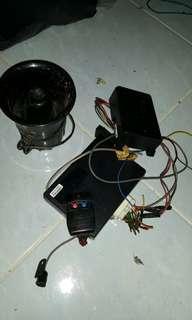 Original Iswara alarm system