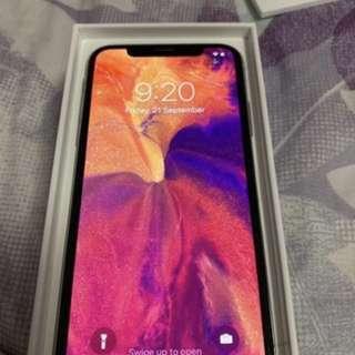 IPhone X sliver (256 GB)