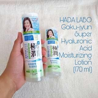 HADA LABO Goku-jyun Super Hyaluronic Acid Light Moisturizing Lotion (170 ml)