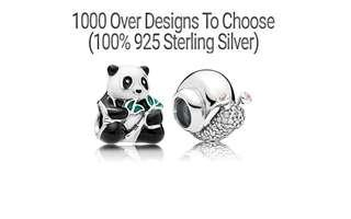 Over 1000 Designs (925 Sterling Silver) To Choose From, Compatible With Pandora, T168