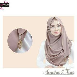 ❤Amara 2 Face❤ Shawl Hijab Tudung