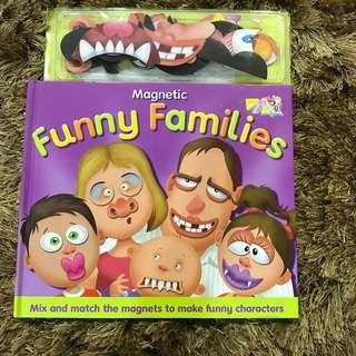 Funny Families Magnet Book