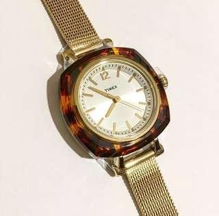 Timex  timex Watch 女錶 瑁玳錶框手錶 -casio babyg