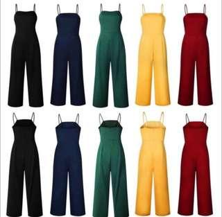 Jumpsuits Romper Trousers Sleeveless $18.70