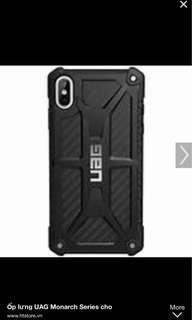 iPhone XS Max UAG Mornach Graphite Casing