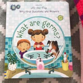 Usborne What Are Germs Lift Flap Book
