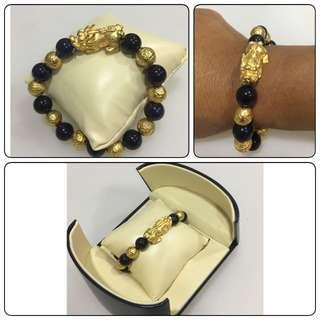 PIXIU bracelet auspicious for wealth & gold
