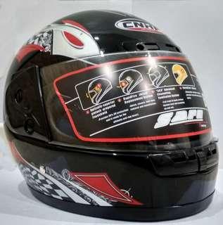 Back Fullface Go Cart Motocycle Helmet