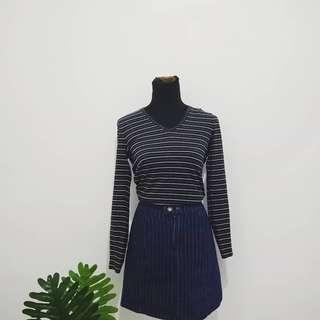 Bossini stripes top