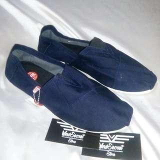 Sepatu Slip On Murah. Full Navy
